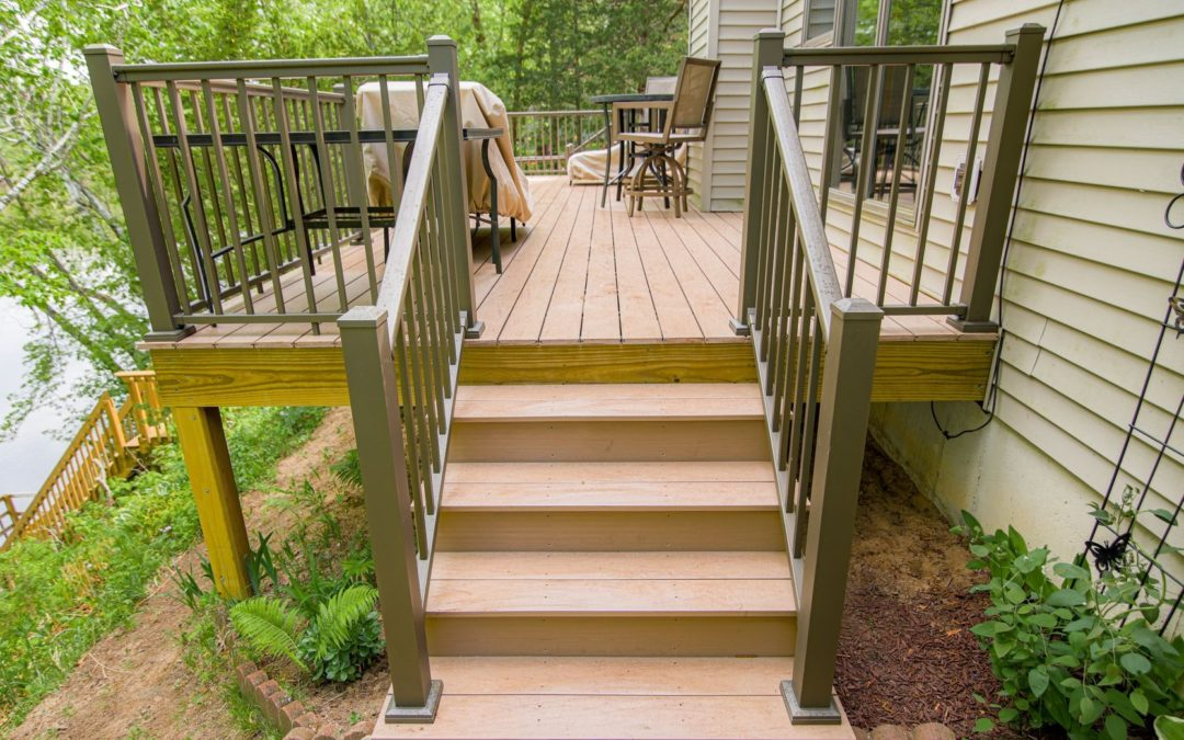 exterior remodeling new deck